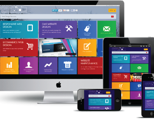 Lanarkshire Web Design Printing and Media - fully responsive website design