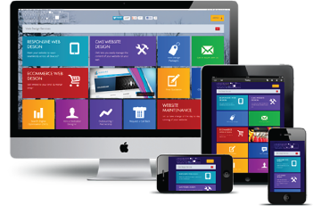 Lanarkshire Web Design Printing and Media - fully responsive website design