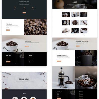 Lanarkshire Website Design Coffee Shop and Cafe package