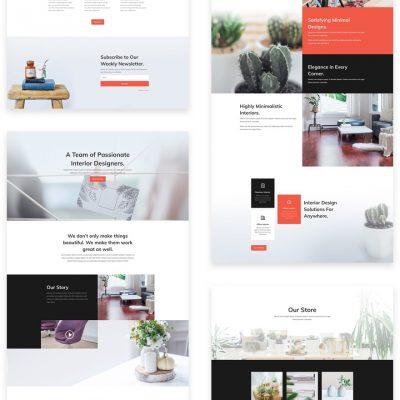 Lanarkshire Website Design Interior Designer Consultant and Inter Design Studio website package