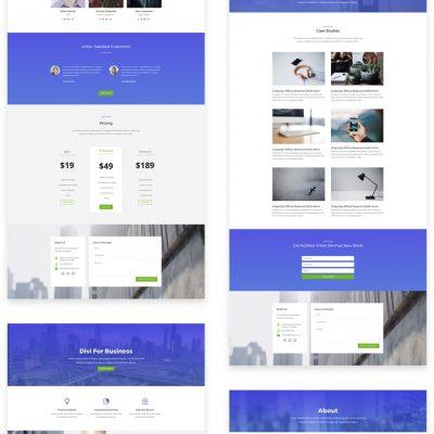 Lanarkshire Website Design Small Business website package generic design