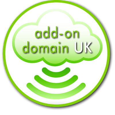 Lanarkshire Website Design Cloud Hosting Icon green additional UK domain 500px